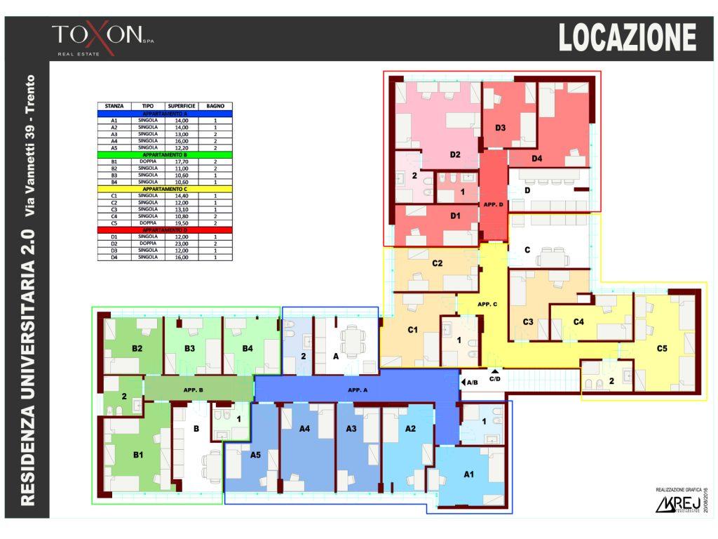 Stanze Residenza Universitaria 2.0
